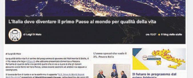 """La """"liberazione"""" di Grillo ricomincia dalla Rete"""