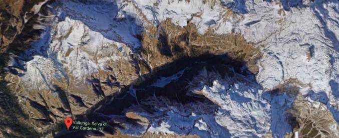 Val Gardena, iceclimber tedesco travolto da una valanga: sospese le ricerche