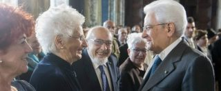"""Giornata della Memoria, Mattarella: """"Leggi razziali macchia infamante. Italia determinata nel realizzare la Shoah"""""""