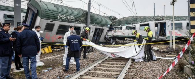 """Milano, treno deragliato. Famigliari delle vittime di Viareggio: """"Anti deragliamento obbligatorio"""". Ansf: """"L'Europa non vuole"""""""