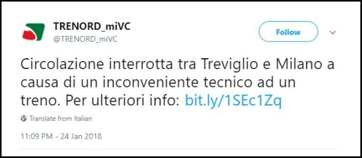 """Milano, treno deraglia a Pioltello: per Trenord è """"inconveniente tecnico"""". I commenti: """"Vergogna"""""""