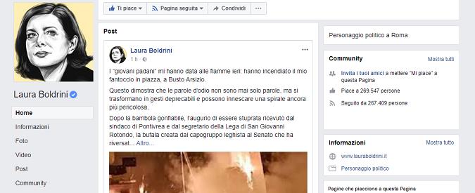 Fantoccio Boldrini bruciato a Busto Arsizio 7d72af39b27