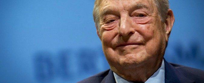 Soros pontifica a Davos: Facebook e Google sono il male