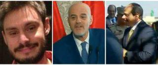 """Regeni, Al Sisi: """"Non finiremo di cercare i colpevoli"""". Intanto inaugura il super-giacimento di gas con Eni e ambasciatore"""
