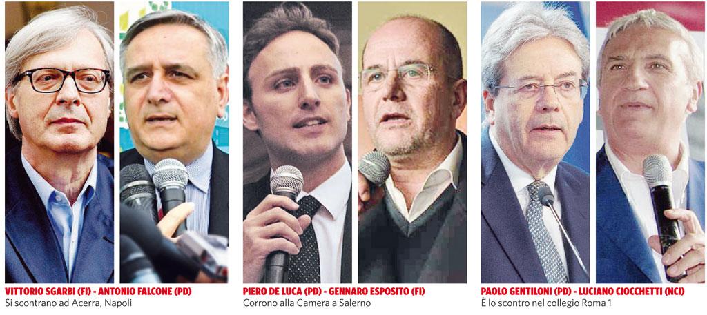 In Edicola sul Fatto Quotidiano del 2 febbraio: Renzi e B., patto di desistenza per i candidati