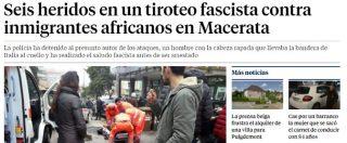 """Macerata, spara agli immigrati dall'auto: la notizia anche sui principali media stranieri. In Spagna: """"Sparatoria fascista"""""""