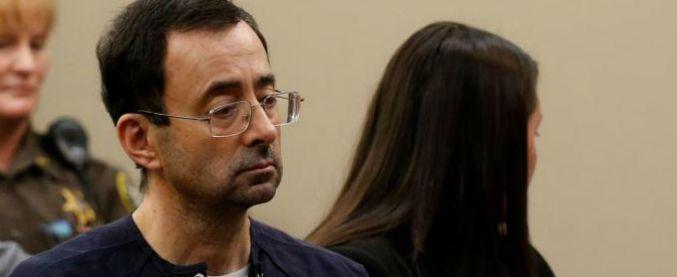 Larry Nassar, terza e finale sentenza per ex medico Usa che ha abusato di centinaia di atlete