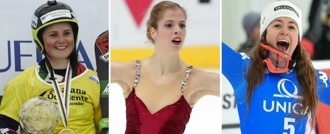 Olimpiadi invernali 2018, la spedizione azzurra è rosa: da Goggia a Fontana, le speranze di medaglia sono al femminile