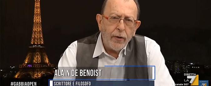 Milano, gli antifascisti censurano la conferenza di de Benoist