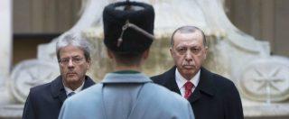 """Nave dell'Eni bloccata a Cipro, Erdogan avverte: """"Non superate il limite, tentativi opportunistici non passano inosservati"""""""