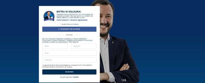 Elezioni, Salvini lancia il concorso social: in palio una telefonata con lui e una foto postata sui social network