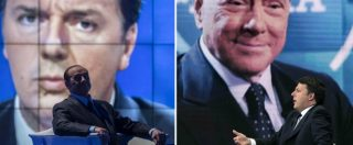 """Renzi e Berlusconi: """"Senza maggioranza si torna al voto"""". Ma uno esclude solo Lega e M5s, l'altro rifiuta il patto anti-inciucio"""