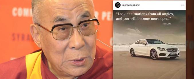 Daimler, chiede scusa alla Cina per aver usato una frase del Dalai Lama
