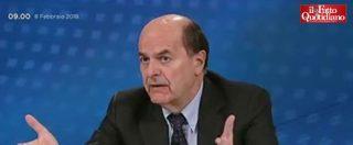"""Macerata, Bersani: """"Bisognerebbe occupare le piazze. La sinistra non sparisce, è un fiore di campo che viene sempre fuori"""""""