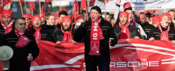 Metalmeccanici, in Germania trionfa la classe operaia. E gli altri?
