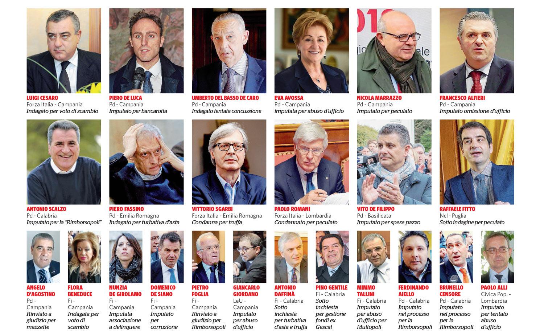 In Edicola sul Fatto dell'8 febbraio: Sconsigli per il voto – I 76 impresentabili