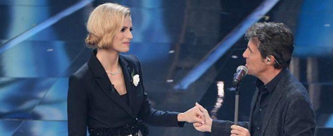 Sanremo 2018 terza serata, Luca Barbarossa ai limiti del fastidioso. Gino Paoli un maestro per i giovani