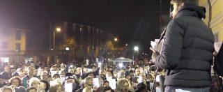 """M5s, Di Battista ad Arcore: la piazza grillina """"recita"""" all'unisono la sentenza Dell'Utri"""