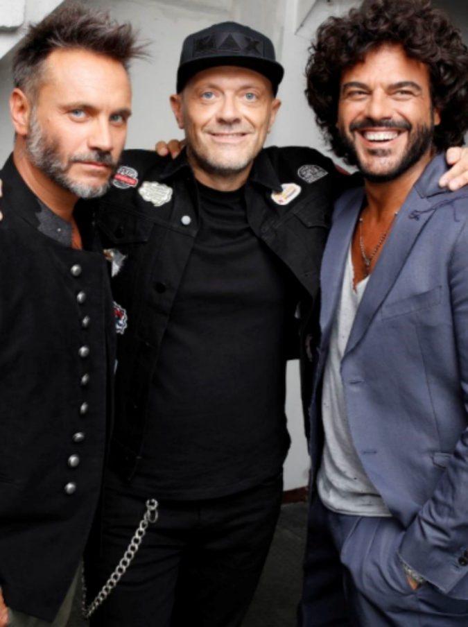 Sanremo 2018, Renga-Nek-Pezzali sul palco: storia di questo strano terzetto di iconcine quasi cinquantenni