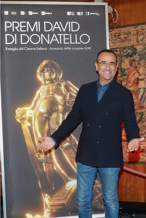 Carlo Conti presenterà la premiazione