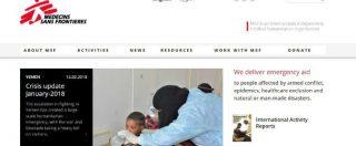 """Scandalo Oxfam, Medici senza frontiere: """"L'anno scorso 24 casi di abusi e molestie nelle nostre strutture. 19 licenziati"""""""