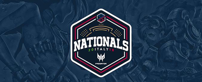 PG Nationals Predator: inizia oggi il torneo italiano di League of Legends che da accesso alla coppa Europea