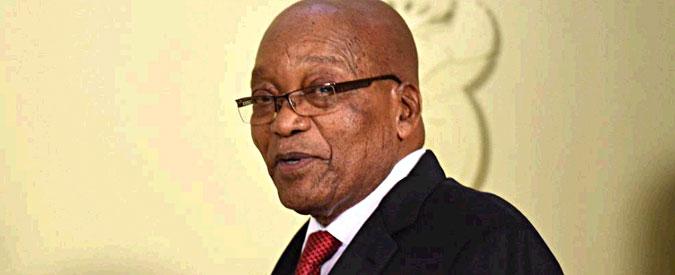 Sudafrica, il presidente Zuma annuncia le dimissioni prima della sfiducia del parlamento