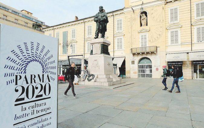 Pizzarotti brinda: Parma è Capitale della Cultura