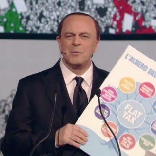 """Crozza-Berlusconi dà i numeri  """"Ecco il mio programma elettorale"""". Il  comizio surreale è tutto da ridere 787e079e989d"""