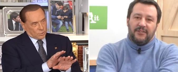 Elezioni, Berlusconi: 'Sì a Salvini ministro'. Leader Lega: 'No, io premier, lui ministro. Prenderemo più voti di Forza Italia'