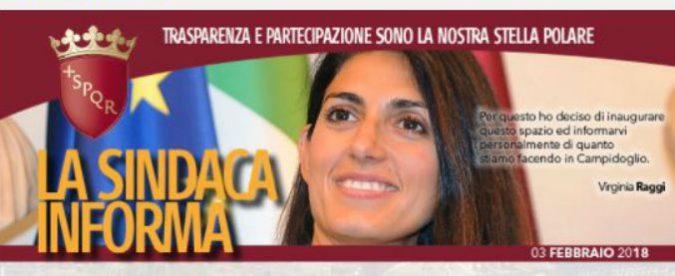 Virginia Raggi, l'Agcom sanziona Roma Capitale. Chi ha ragione?