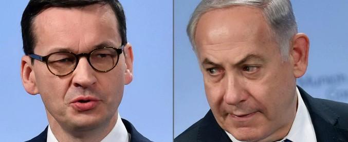 """Polonia, premier parla di """"responsabilità degli ebrei"""" nella Shoah. Netanyahu: """"Inaccettabile"""""""