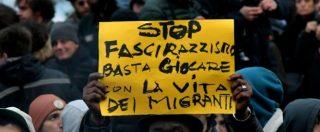 """Sala con la Boldrini: """"Chiudere gruppi e movimenti fascisti"""". De Magistris: """"Chi aspettano Minniti e il governo?"""""""