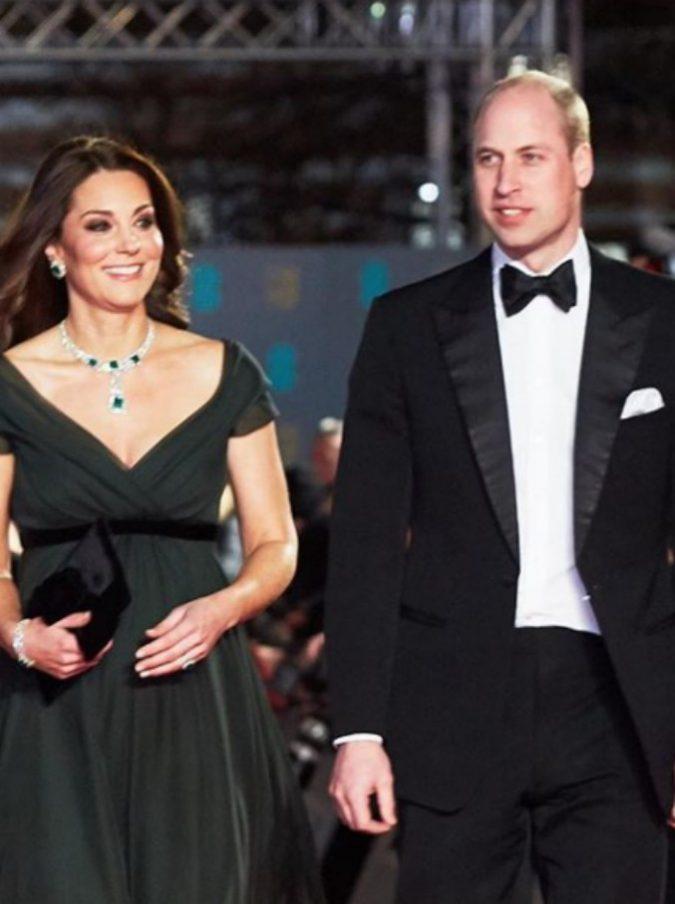 Bafta 2018, tutte in nero contro le molestie ma Kate Middleton no