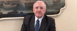 """Napoli, la minaccia di Vincenzo De Luca: """"Da Fanpage operazione camorristica. Vi faremo ringoiare tutto"""""""