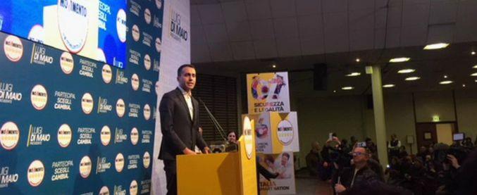 """M5s, Di Maio: """"Prossima settimana annunceremo la squadra di governo"""". E il 2 marzo chiusura campagna con Grillo"""