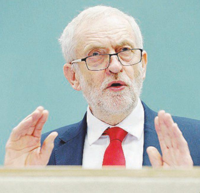 """Corbyn e gli """"amici"""" oltre il Muro di Berlino"""