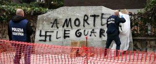 """Aldo Moro, """"A morte le guardie"""": imbrattata con svastiche la targa di via Fani a Roma. Famigliari vittime: """"Vergognoso"""""""