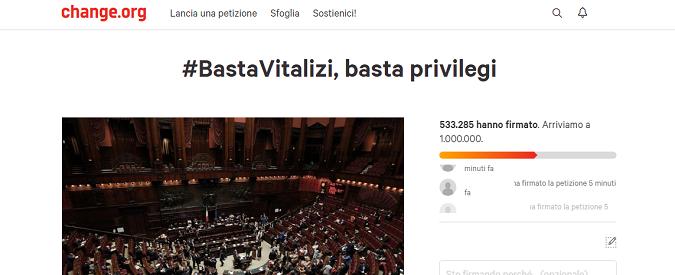 #Bastavitalizi e le altre proposte dei cittadini ai partiti su Change.org