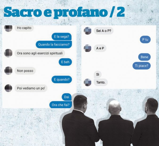 Preti gay in chat, il dossier in mano alla Curia di Napoli