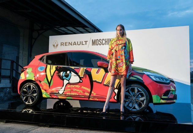 Renault Clio Moschino, quando le quattro ruote incontrano la