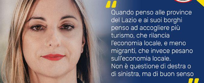 """M5s, il manifesto della Lombardi: """"Più turisti, meno migranti"""". Poi su Facebook: """"Di destra? Sono concreta"""""""