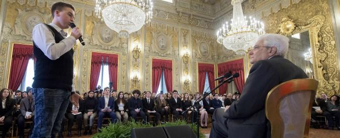 Mattarella nomina 29 ragazzi Alfieri della Repubblica: il più piccolo ha 10 anni. C'è anche bimbo scampato al sisma di Ischia
