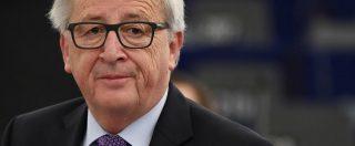 """Manovra, Juncker: """"Con l'Italia serve rigore, non vogliamo nuova Grecia"""". Moscovici: """"Convincere a cambiare politica"""""""