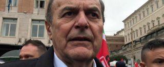 """Corteo contro i fascismi, Bersani: """"Niente elezioni per chi fa il saluto romano a pochi metri da Marzabotto"""""""