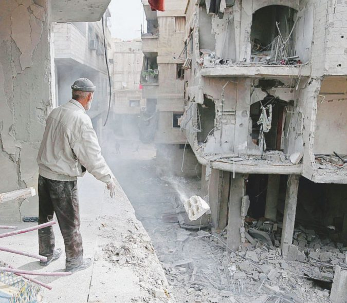 All'inferno e ritorno Ghouta Est, l'ultimo fortino di Al Qaeda