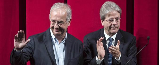 """Elezioni, Veltroni: """"Senza maggioranza, tornare alle urne"""". Gentiloni: """"Non sono possibili voti a dispetto in libera uscita"""""""