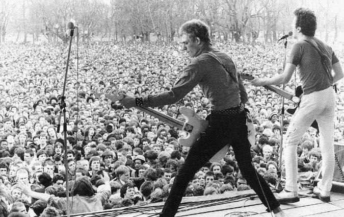 Londra 1978, le chitarre unite contro il razzismo