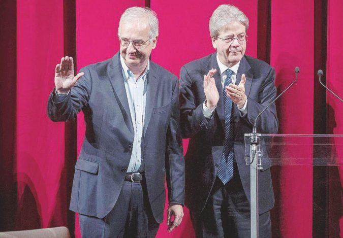 Veltroni, prove generali per un Pd senza Renzi