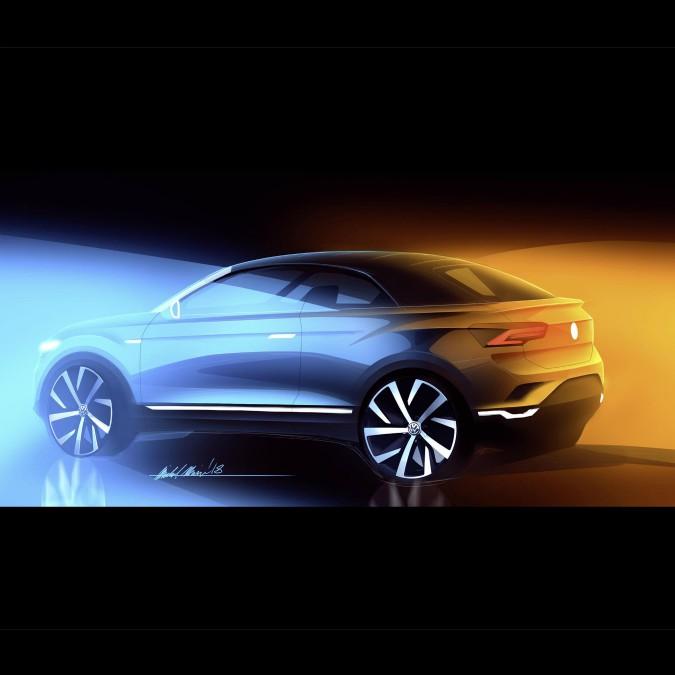 Volkswagen T-Roc, la versione cabriolet arriverà a fine 2020
